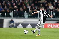 13.12.2018 - Torino - Champions League   -  Juventus-Tottenham nella  foto: Gonzalo Higuain  segna su rigore il gol del 2 a 0