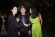 MARY MCCARTNEY, MARC QUINN, GOGA ASHGANASHI,, The Serpentine Party pcelebrating the 2019 Serpentine Pavilion created by Junya Ishigami, Presented by the Serpentine Gallery and Chanel,  25 June 2019