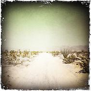 Desert road, California