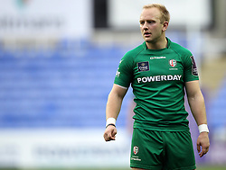 London Irish's Shane Geraghty - Photo mandatory by-line: Robbie Stephenson/JMP - Mobile: 07966 386802 - 05/04/2015 - SPORT - Rugby - Reading - Madejski Stadium - London Irish v Edinburgh Rugby - European Rugby Challenge Cup