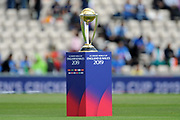 The ICC World Cup Trophy ahead of  the ICC Cricket World Cup 2019 match between South Africa and India at the Hampshire Bowl, Southampton, United Kingdom on 5 June 2019.