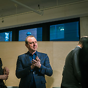 SHoP Architects co-founder Gregg Pasquarelli speaking about the firms current work under way in New York City. AF | New York event hosting SHoP Architects co-founder Gregg Pasquarelli