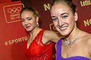 15-12-2015: NOC-NSF Sportgala: Amsterdam<br /> <br /> L-R Sanne Wevers, Lieke Wevers<br /> <br /> Foto: Gertjan Kooij
