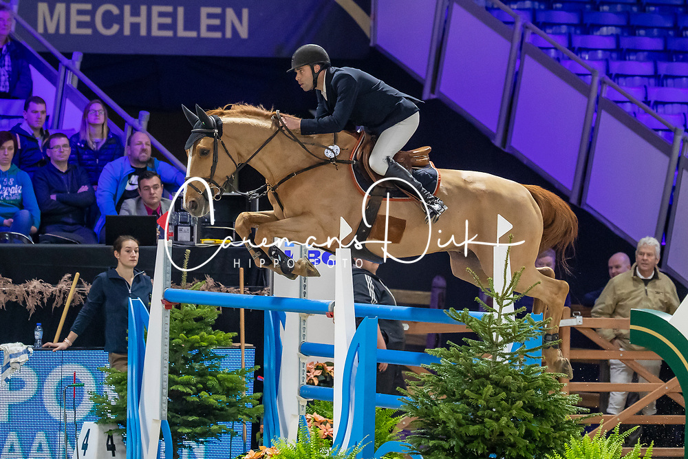 Leemans Thomas, BEL, Gracchus DM<br /> Jumping Mechelen 2019<br /> © Hippo Foto - Martin Tandt<br />  27/12/2019
