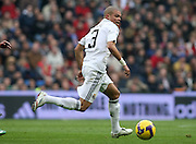 Real Madrid's Pepe during La Liga match.January 18 2009.