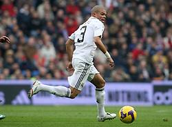 Real Madrid's Pepe during La Liga match.January 18 2009.