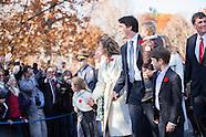 2015 Trudeau Swearing In