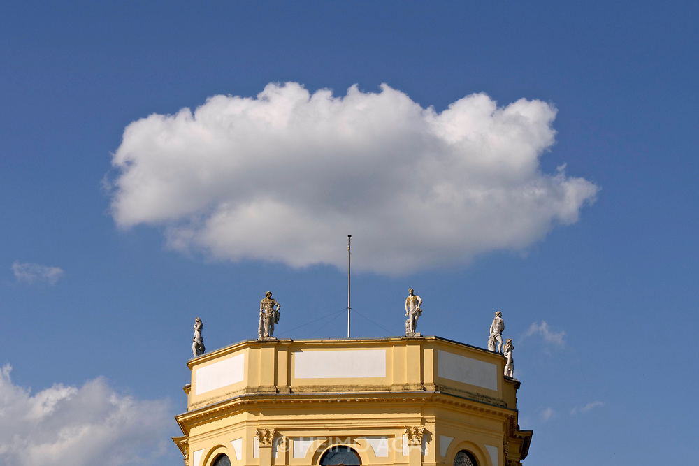 Kassel, Germany. Opening days of documenta14.<br /> Orangerie.