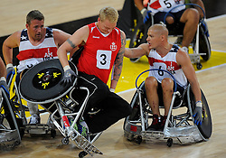 USA v Denmark  - Photo mandatory by-line: Joe Meredith/JMP - Mobile: 07966 386802 - 12/09/2014 - The Invictus Games - Day 2 - Wheelchair Rugby - London - Copper Box Arena