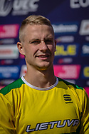 2018 UEC European Elite Championships, Glasgow (UK)<br /> KARALIUS Lukas #385 (LITHUANIA)