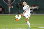 20 October 2014: Whitney Engen (USA). The United States Women's National Team played the Haiti Women's National Team at RFK Memorial Stadium in Washington, DC in a 2014 CONCACAF Women's Championship Group A game, which serves as a qualifying tournament for the 2015 FIFA Women's World Cup in Canada. The U.S. won the game 6-0.