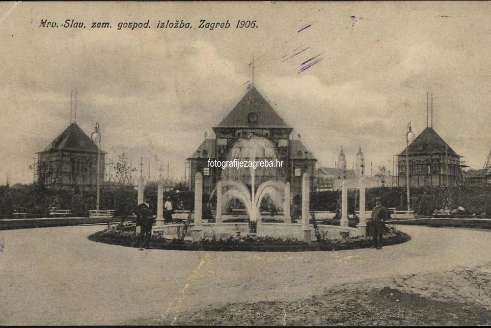 Hrv.-Slav. zem. gospod. izložba, Zagreb 1906.  <br /> <br /> ImpresumZagreb : Naklada papirnice A. Brusina, 1906.<br /> Materijalni opis1 razglednica : tisak ; 8,9 x 14 cm.<br /> SuradnikMosinger, Rudolf(1865.–1918.)<br /> NakladnikTiskara A. Brusina<br /> Mjesto izdavanjaZagreb<br /> Vrstavizualna građa • razglednice<br /> ZbirkaZbirka razglednica • Grafička zbirka NSK<br /> Formatimage/jpeg<br /> PredmetZagreb –– Grge Martića<br /> SignaturaRZG-MART-3<br /> Obuhvat(vremenski)20. stoljeće<br /> NapomenaRazglednica je putovala 1906. godine. • Na prostoru predviđenom za poštansku markicu otisnut je monogram Rudolfa Mosingera.<br /> PravaJavno dobro<br /> Identifikatori000954490<br /> NBN.HRNBN: urn:nbn:hr:238:995325 <br /> <br /> Izvor: Digitalne zbirke Nacionalne i sveučilišne knjižnice u Zagrebu