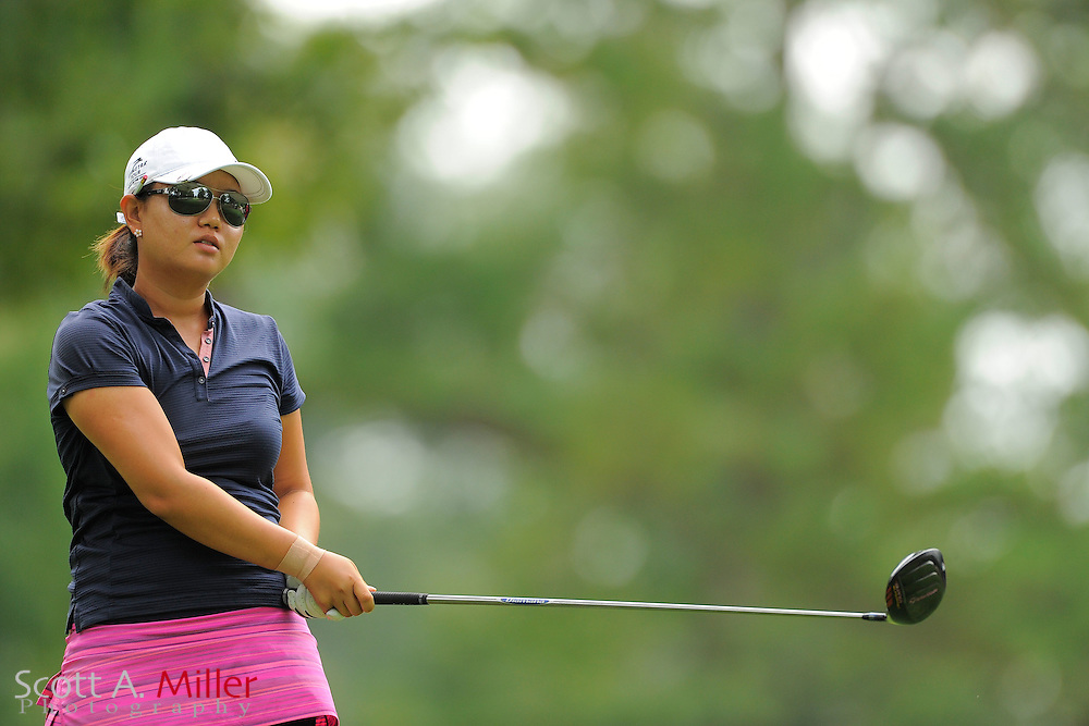 Jenny Kim during the Symetra Tour's Eagle Classic at the Richmond Country Club on August 18, 2012 in Richmond, Va...©2012 Scott A. Miller.