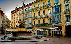 Fountain in the Place de la Trinit&eacute;, Toulouse, France<br /> <br /> (c) Andrew Wilson | Edinburgh Elite media