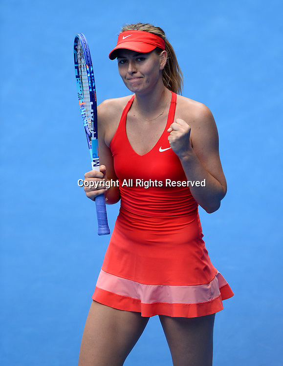 Maria Sharapova (RUS) during 2nd round of play<br /> 2015 Australian Open Tennis / Day 3<br /> Grand Slam of Asia Pacific<br /> Melbourne Park, Vic Australia<br /> Wednesday 21 January 2015<br /> &copy; Sport the library / Jeff Crow