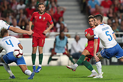 September 10, 2018 - Lisbon, Portugal - Portugal's forward Andre Silva shoots to score during the UEFA Nations League A group 3 football match Portugal vs Italy at the Luz stadium in Lisbon, Portugal on September 10, 2018. (Credit Image: © Pedro Fiuza/ZUMA Wire)