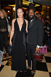 ROY LUWOLT and MARY ALICE MALONE at the London launch of Casamigos Tequila hosted by Rande Gerber, George Clooney & Michael Meldman and to celebrate Cindy Crawford's new book 'Becoming' held at The Beaumont Hotel, Brown Hart Gardens, 8 Balderton Street, London on 1st October 2015.