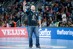 UFC Fighter during handball match between PPD Zagreb (CRO) and Paris Saint-Germain (FRA) in 11th Round of Group Phase of EHF Champions League 2015/16, on February 10, 2016 in Arena Zagreb, Zagreb, Croatia. Photo by Urban Urbanc / Sportida