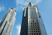 Buildings in the city centre, Singapore