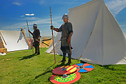Viking Encampment during the Icelandic Festival<br />