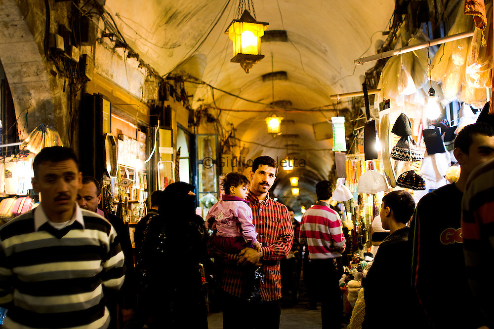 Aleppo's bazaar is considered one of the most genuine and ancient market in the World