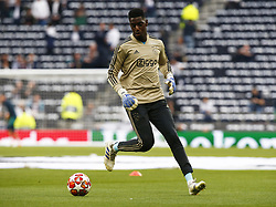April 30, 2019 - London, England, United Kingdom - Bruno Varela  of Ajax during the pre-match warm-up .during UEFA Championship League Semi- Final 1st Leg between Tottenham Hotspur  and Ajax at Tottenham Hotspur Stadium , London, UK on 30 Apr 2019. (Credit Image: © Action Foto Sport/NurPhoto via ZUMA Press)