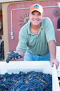 Neil the wine maker at Holeinsky Vineyard and Winery in Buhl, Idaho.
