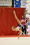 Pasquini Martina during the Italian Rhythmic Gymnastics Championship 2018 in Fabriano.