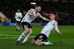 Goal, Ross Barkley of Everton scores, Bournemouth 0-1 Everton - Mandatory by-line: Jason Brown/JMP - Mobile 07966 386802 20/02/2016 - SPORT - FOOTBALL - Bournemouth, Vitality Stadium - AFC Bournemouth v Everton - The Emirates FA Cup