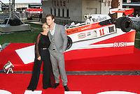 Elsa Pataky; Chris Hemsworth, Rush - World film premiere, Leicester Square gardens, London UK, 02 September 2013, (Photo by Richard Goldschmidt)
