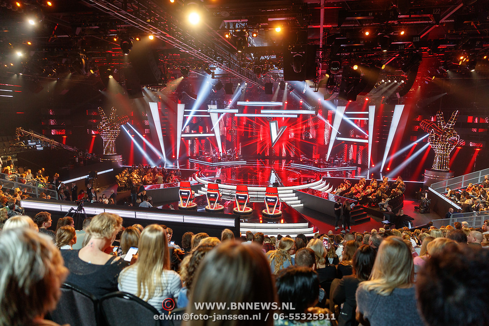 NLD/Hilversum/20180209 - 3e Liveshows The voice of Holland 2018, studio