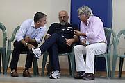 DESCRIZIONE : Roma Centro CONI Giulio Onesti Raduno Collegiale<br /> GIOCATORE : Marco Calvani Giampiero Ticchi Mario Arceri<br /> SQUADRA : Nazionale Italia Uomini<br /> EVENTO : Raduno Collegiale Nazionale Italiana Maschile<br /> GARA : <br /> DATA : 21/07/2010 <br /> CATEGORIA : allenamento<br /> SPORT : Pallacanestro <br /> AUTORE : Agenzia Ciamillo-Castoria/ElioCastoria<br /> Galleria : Fip Nazionali 2010 <br /> Fotonotizia : Roma Centro CONI Giulio Onesti Raduno Collegiale<br /> Predefinita :