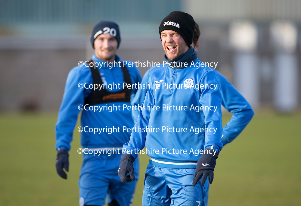 St Johnstone Training….27.12.16<br />