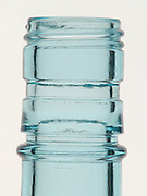 Extreme close up of a bottleneck.
