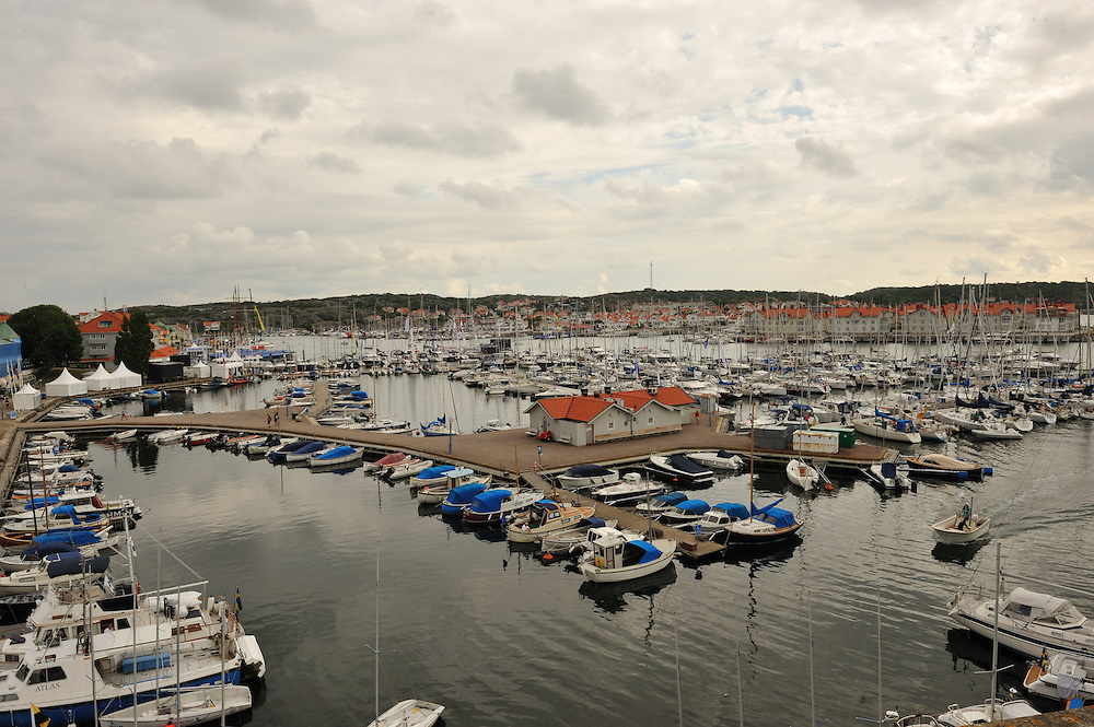 The harbour at Marstrand, Sweden. Photo: Chris Davies/WMRT