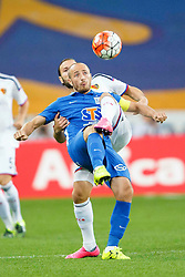 29.07.2015, INEA Stadion, Poznan, POL, UEFA CL, Lech Poznan vs FC Basel, Qualifikation, 3. Runde, Hinspiel, im Bild LUKASZ TRALKA // during the UEFA Champions League Qualifier, third round, first Leg match between Lech Posen and FC Basel at the INEA Stadion in Poznan, Poland on 2015/07/29. EXPA Pictures © 2015, PhotoCredit: EXPA/ Newspix/ Radoslaw Jozwiak<br /> <br /> *****ATTENTION - for AUT, SLO, CRO, SRB, BIH, MAZ, TUR, SUI, SWE only*****
