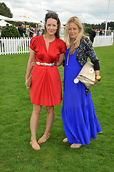 Left to right, ARABELLA MUSGRAVE and ASTRID HARBORD at the 25th annual Cartier International Polo held at Guards Polo Club, Great Windsor Park, Berkshire on 26th July 2009.