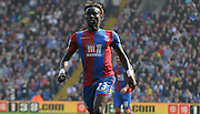 Pape Souare in action during the Barclays Premier League match between Crystal Palace and West Bromwich Albion at Selhurst Park, London, England on 3 October 2015. Photo by Michael Hulf.