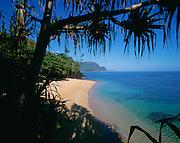 Hideaway Beach, Princeville, Hanalei Bay, Hanalei, Kauai, Hawaii, USA<br />