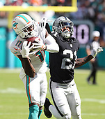 Sep 23, 2018-NFL-Oakland Raiders at Miami Dolphins