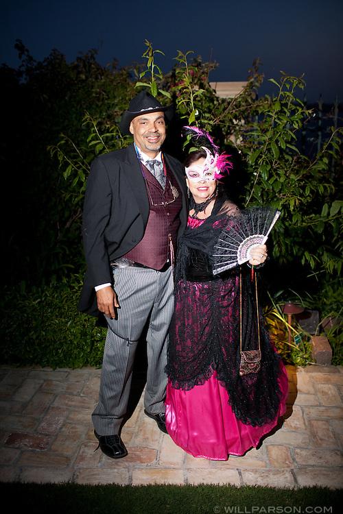 Maurice Martin and Elva Salinas.