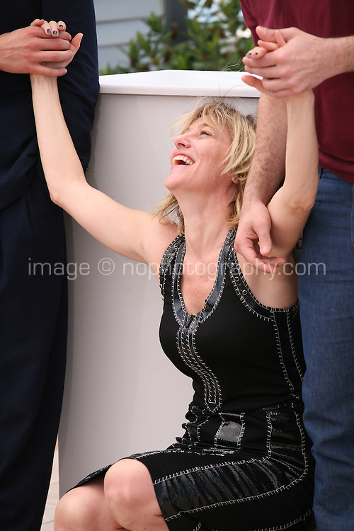 Director Valérie Bruni Tedeschi at the 'Un Chateau En Italie' film photocall at the Cannes Film Festival  Tuesday 21 May 2013