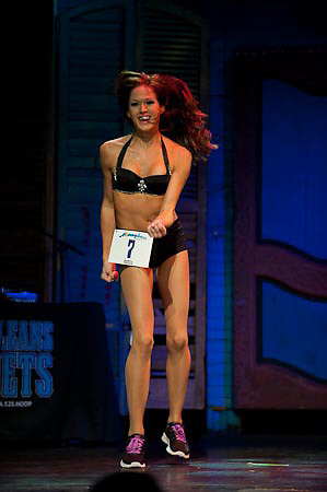 New Orleans Honeybees 2011-2012 tryouts Auditions