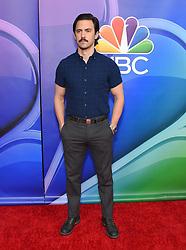 February 20, 2019 - Hollywood, California, U.S. - Milo Ventimiglia on the carpet at the NBCUniversal Mid Season Press Junket at Universal Studios. (Credit Image: © Lisa O'Connor/ZUMA Wire)