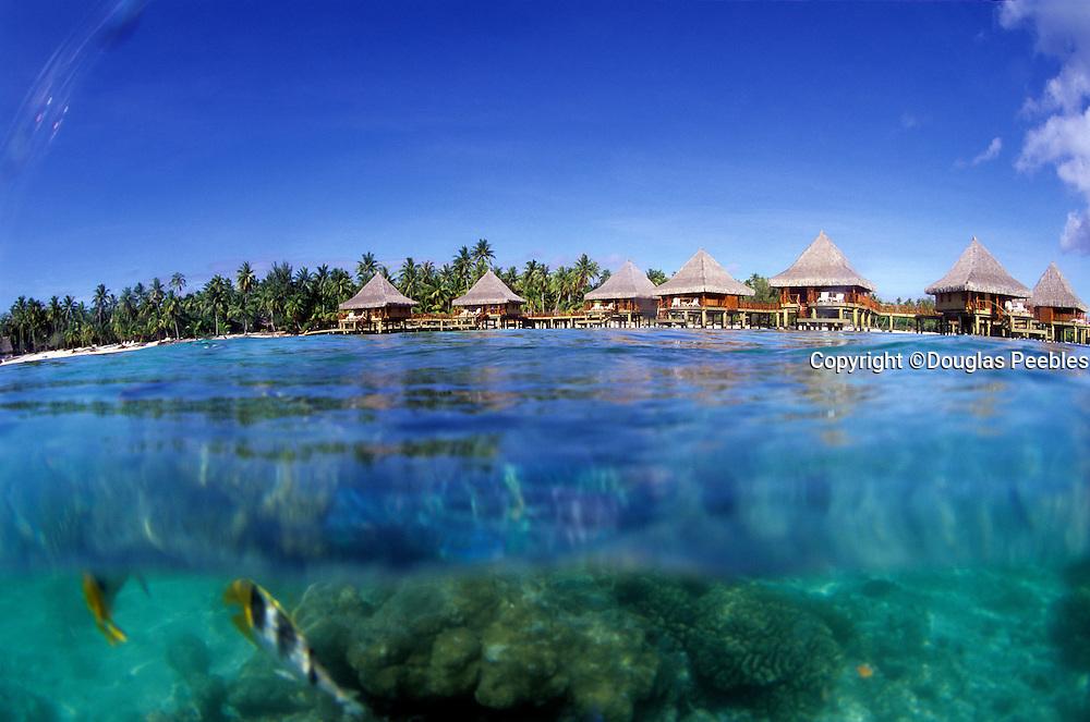 Kia Ora Resort, over water bungalo, Rangiroa,French Polynesia