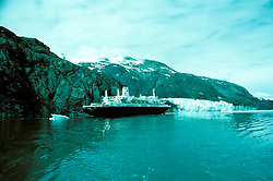 AK: Glacier Bay National Park, Alaska, Margerie Glacier    .Photo Copyright: Lee Foster, lee@fostertravel.com, www.fostertravel.com, (510) 549-2202.Image: akglac217