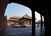 Gugong (Forbidden City, Imperial Palace). Qianqinggong (Palace of Heavenly Purity).