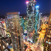 An overview of Shenzhen, a hightech hub in southern China.