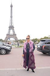 Marjorie Harvey attending the Hermes Fashion Show at Trocadero during Paris Fashion Week Spring Summer 2018 held in Paris, France on October 2, 2017. Photo by Julien Reynaud/APS-Medias/ABACAPRESS.COM