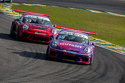 July 27, 2018 - Sao Paulo, Sao Paulo, Brazil - Car #80 in action during the free practice session for the 5th stage of the 2018 Brazilian Porsche GT3 Cup championship, which takes place on Saturday, 28 at Interlagos circuit in Sao Paulo, Brazil. (Credit Image: © Paulo Lopes via ZUMA Wire)